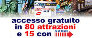 The New York Pass - Card per accesso scontato alle attrazioni Turistiche di New York